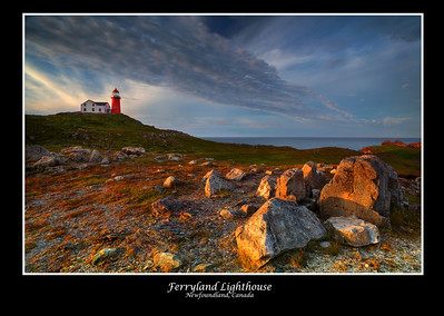 Ferryland Lighthouse, Newfoundland, Canada 2010