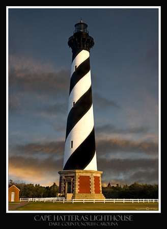 CAPE HATTERAS LIGHTHOUSE, CAPE HATTERAS NORTH CAROLINA
