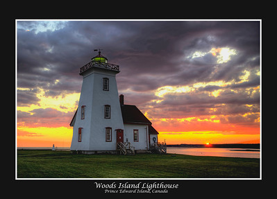 Woods Island Lighthouse, Prince Edward Island, Canada
