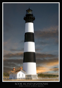 BODIE ISLAND LIGHT HOUSE, OUTER BANKS NORTH CAROLINA