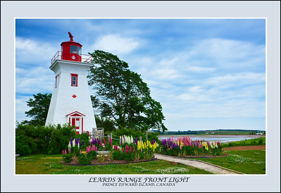 Leards Range Front Light, Prince Edward Island, Canada