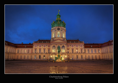 Charlottenburg Palace, Berlin, Germany 2013