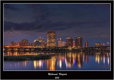 Richmond, Virginia 2012 Sunset
