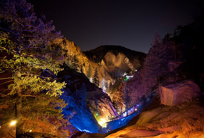 Seven Falls, Colorado Springs, Colorado. 2011