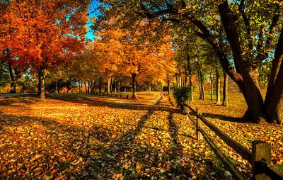 Fall Winterset, Iowa