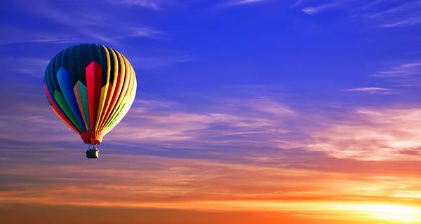 Colorado Sunrise at Balloon fest