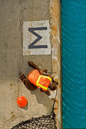 Dock Worker, Pier M