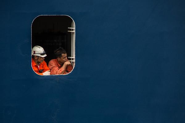 Blue Boat Watchers