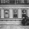 Ticket Windows<br /> Winner, Monochrome Projected Image of the Year<br /> Monmouth Camera Club, 2013