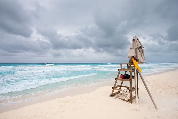 Cloudy Day in Cancun