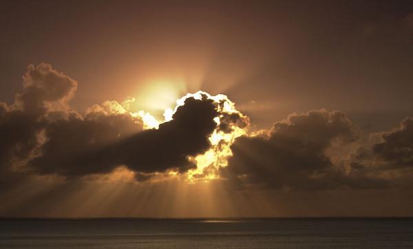 Sunset, Cancun