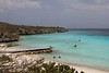 Secluded beach in Curacao
