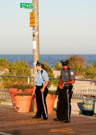 Two cops in Ocean City, NJ