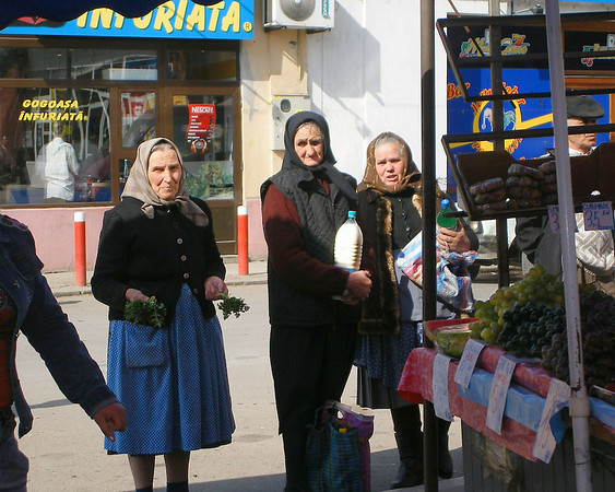 Romanian women<br /> Photo by Dana Schwartz