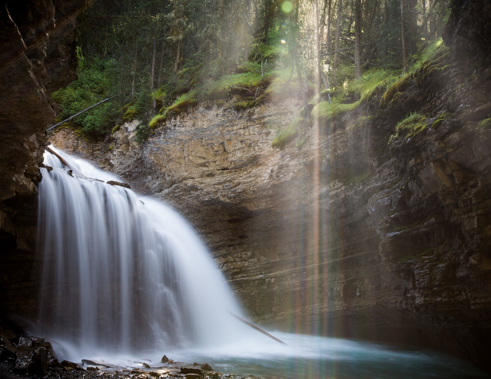 Johnston Canyon, upper falls