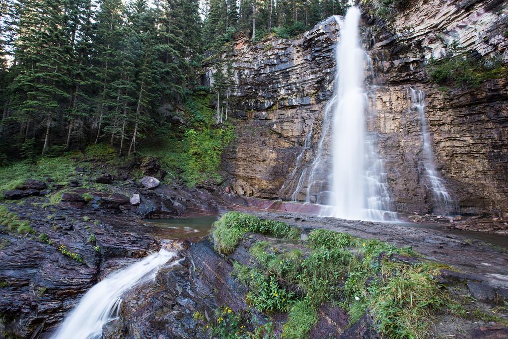 Virginia Falls, Glacier NP