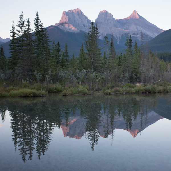 The Three Sisters, Canmore, Alberta