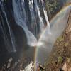 Victoria Falls<br /> Double Rainbow