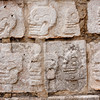 carvings at Chichen Itza