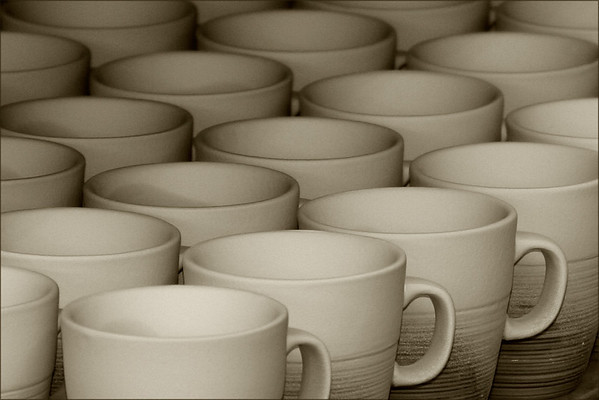 Mugs, Delft Factory, Netherlands<br /> Award Winner - Monmouth Camera Club