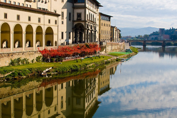 """Ufizzi Gallery, Florence<br /> Medal Winner - Monmouth Camera Club<br /> """"Print of the Year - 2008"""""""