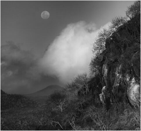 Moonrise, San Cristobal Island