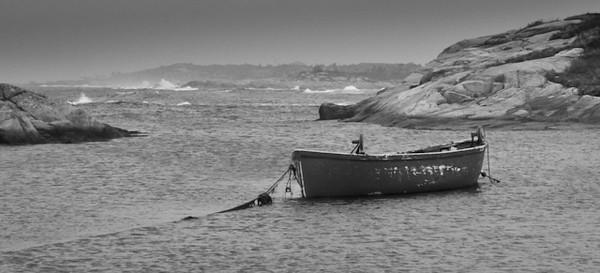 Nova Scotia rowboat