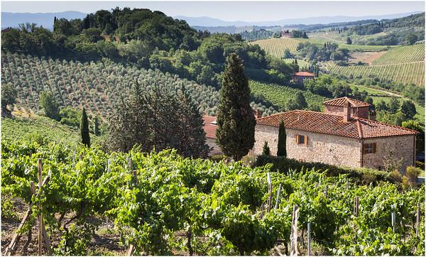 Tuscan Countryside<br /> San Gemignano