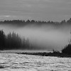 Early morning fog, Snake River