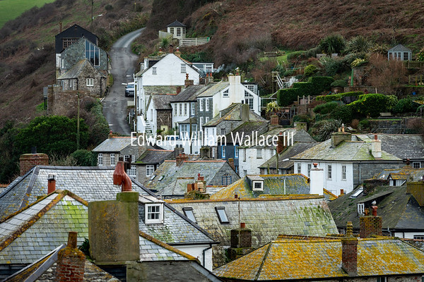 A view of Port Isaac - Cornwall
