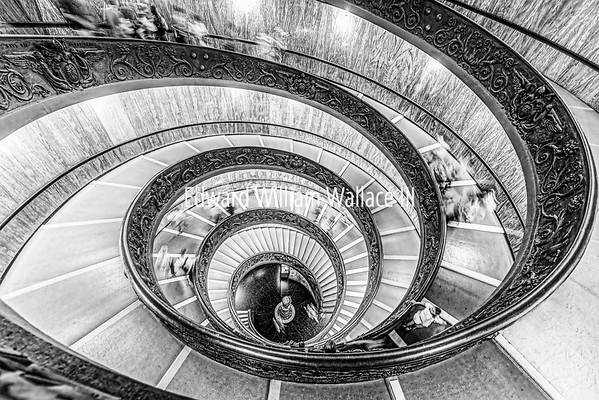 Vatican Double Staircase - Rome