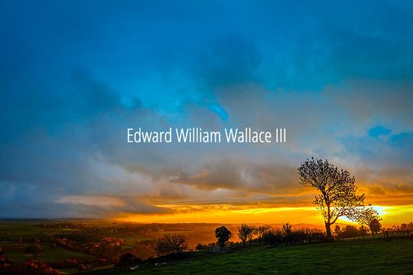 Hadrian Wall Sunset