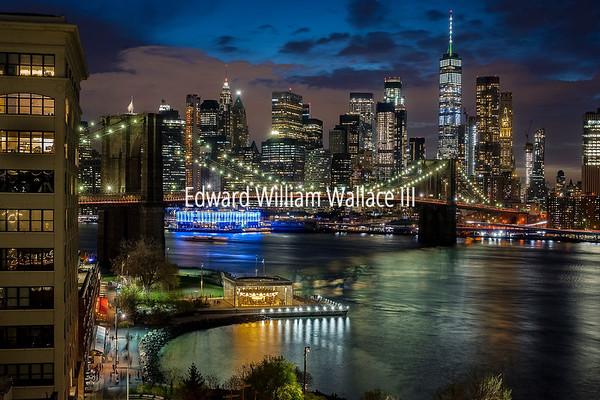 #2 - Brooklyn Bridge Night