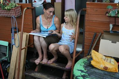 Angelina en moeder