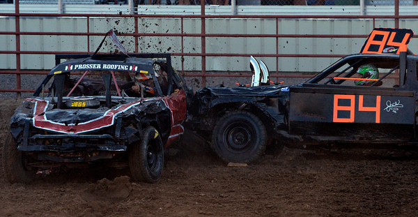 Boulder County Fair Demolition Derby