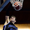 """Alexander Dawson's Tom Walker (25) goes up for a dunk during the game at the St. Vrain Memorial Building in Longmont on Monday, Feb. 11, 2013. For more photos visit  <a href=""""http://www.BoCoPreps.com"""">http://www.BoCoPreps.com</a>.<br /> (Greg Lindstrom/Times-Call)"""