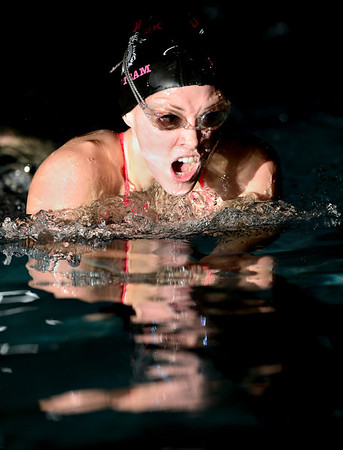 """Silver Creek's Morgan McKean competes in the 200 yard IM during the swim meet at Centennial Pool in Longmont on Thursday, Dec. 6, 2012. For more photos visit  <a href=""""http://www.BoCoPreps.com"""">http://www.BoCoPreps.com</a>.<br /> (Greg Lindstrom/Times-Call)"""