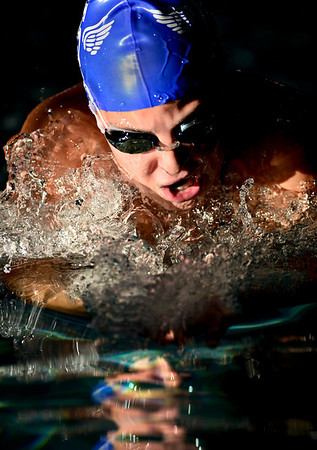 "Abi Young competes in the 200 yard IM during the swim meet at Centennial Pool in Longmont on Thursday, Dec. 6, 2012. For more photos visit  <a href=""http://www.BoCoPreps.com"">http://www.BoCoPreps.com</a>.<br /> (Greg Lindstrom/Times-Call)"