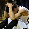 The University of Colorado's Askia Booker reacts to missing a last second three-pointer against UCLA Saturday Jan. 12, 2013 at the Coors Events Center. CU lost 78-75. (Lewis Geyer/Times-Call)