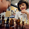 "Julia Wall, 8, competes against her brother Grayson, 6, during chess club at the Longmont Public Library on Monday, Feb. 4, 2013. For more photos and a video, visit  <a href=""http://www.TimesCall.com"">http://www.TimesCall.com</a>.<br /> (Greg Lindstrom/Times-Call)"