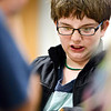 "Donovan Costello, 11, reacts after a bad move against Sam Honc, 8, during chess club at the Longmont Public Library on Monday, Feb. 4, 2013. For more photos and a video, visit  <a href=""http://www.TimesCall.com"">http://www.TimesCall.com</a>.<br /> (Greg Lindstrom/Times-Call)"