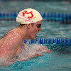 Regis Jesuit's Missy Franklin swims to a national record in the 200 yard IM during the Class 5A State Swim Meet Championships Saturday afternoon Feb. 09, 2013 in Fort Collins. (Lewis Geyer/Times-Call)