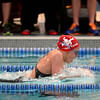 Fairview's Sandra Freeman competes in the 200 yard IM consolation final during the Class 5A State Swim Meet Championships Saturday afternoon Feb. 09, 2013 in Fort Collins. (Lewis Geyer/Times-Call)