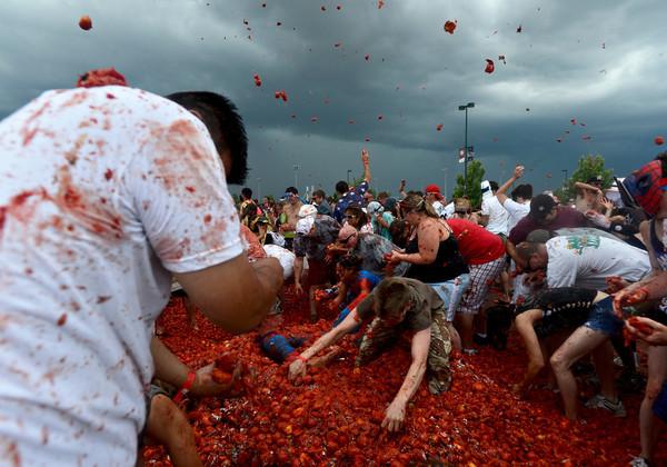 Tomato Battle