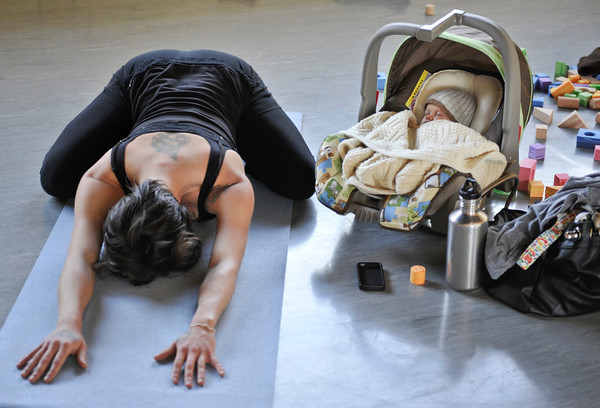 Workout of the Week: Mommy and Me Yoga