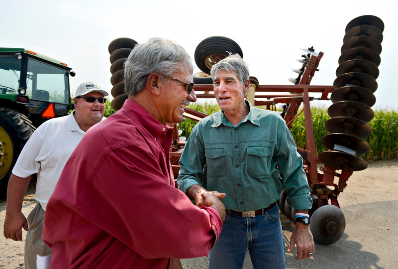 Udall at Peppler Farm
