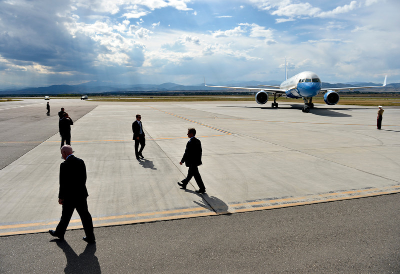 President Obama visits CSU