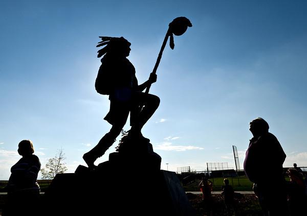 Frederick Warrior Sculpture