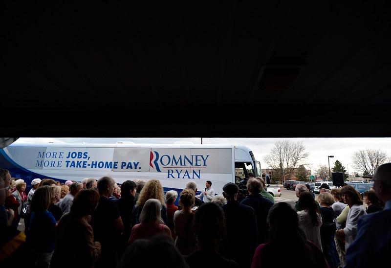 Craig Romney Visits Longmont