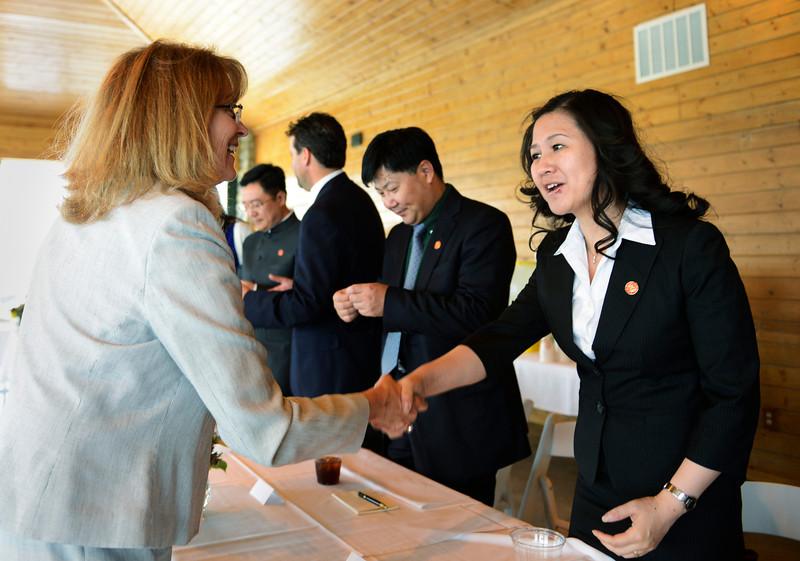 Chinese Delegates in Firestone